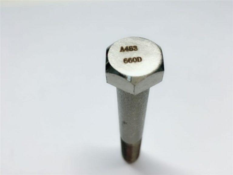a286 mataas na kalidad ng mga fastener ng astig a453 660 en1.4980 na pag-aayos ng tornilyo ng makina
