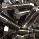 nickel alloy 600 at 2.4816 bolt wheel studs din931chinese supplier