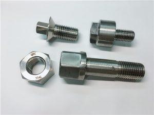 NO.28-Mag-import ng fastener mula sa China Hindi kinakalawang na asero SS 304 SS316 HEX BOLT