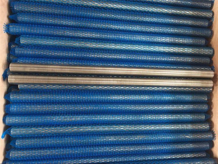 nickel alloy inconel601 / 2.4851 trapezoidal na may sinulid na baras na bagong gamit