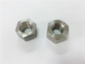 No.108-Mga tagagawa ng espesyal na haluang metal na fastener na nagmamadali C276 nuts