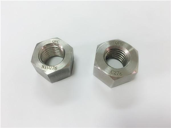 tagagawa ng mga espesyal na haluang metal na fastener na hastelloy c276 nuts