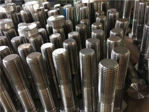 No.12-hex bolts ISO4014 kalahating thread A193 B8, B8M, B8T, B8C SS fastener