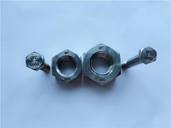 nickel haluang metal c22 en 2.4602 lahat ng may sinulid na stud bolt nus hastelloy c 276