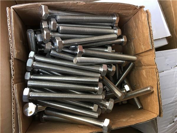 310s / 1.4845 espesyal na mga hindi kinakalawang na asero na fastener na hex bolt nut washer m24 * 80mm