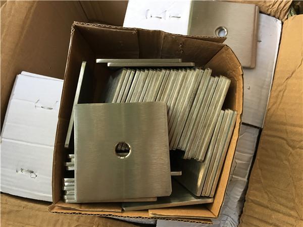 na-customize na sobrang duplex s32205 (f60) hindi kinakalawang na asero square plate washer / fastener