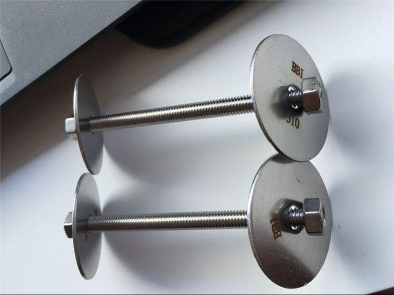 ss310 / ss310s astm f593 fastener, hindi kinakalawang na asero bolts, nuts at tagapaghugas ng pinggan