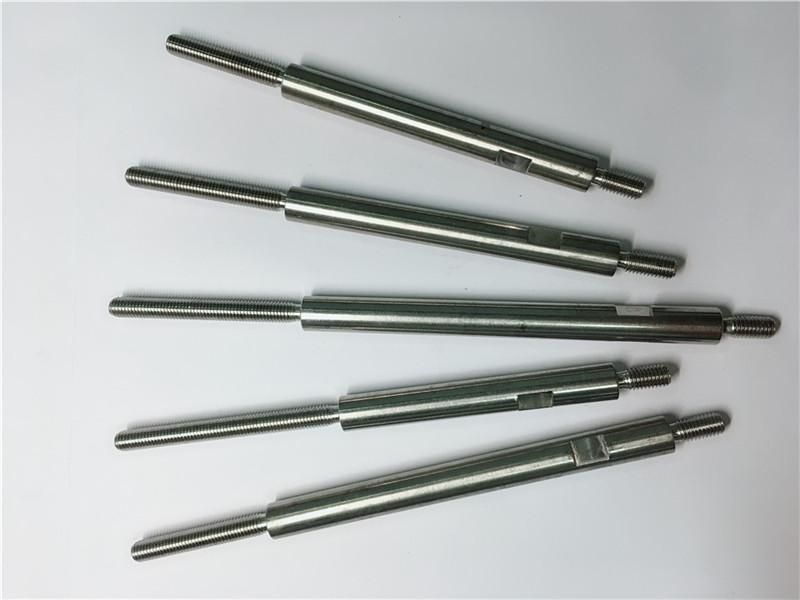 cnc katumpakan machining hindi kinakalawang na asero na may sinulid na mga fastener