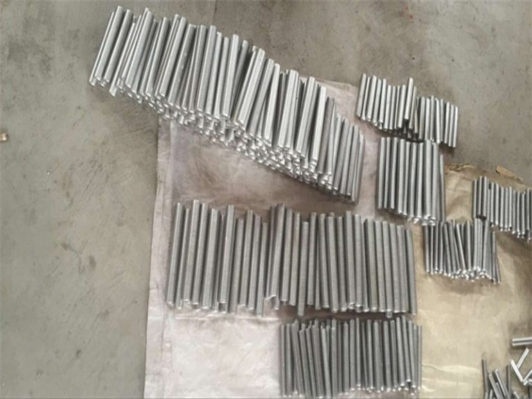 inconel 718 625 600 601 i-tap ang hex stud bolt at nut fastener M6 M120